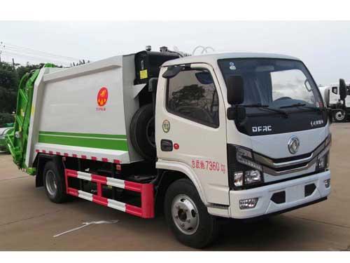 国六SZD5075ZYS6压缩式垃圾车