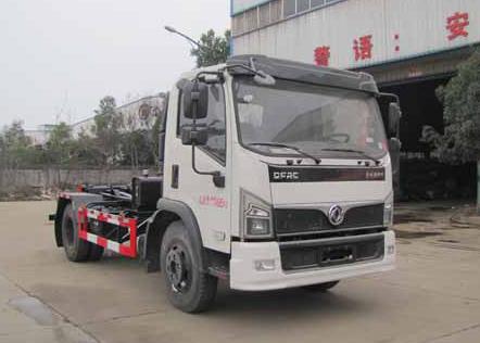 国六SZD5125ZXX6车厢可卸式垃圾车